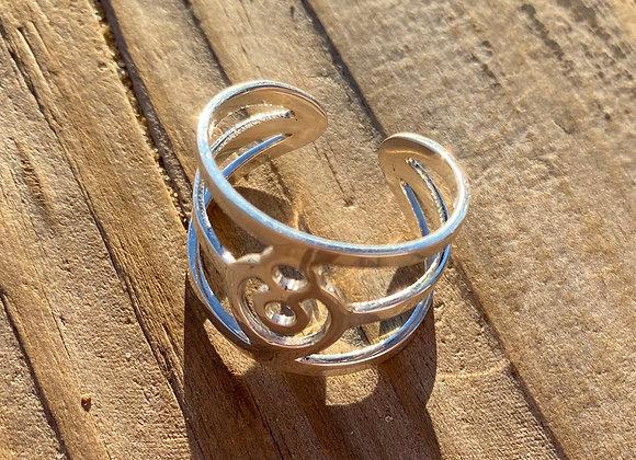 BeYou Energetic Ring Silver