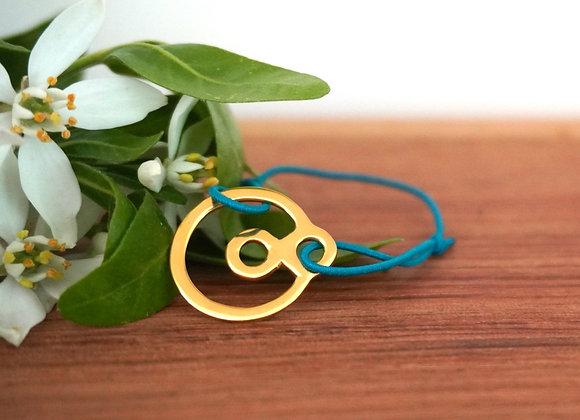 BeYou Energetic Bracelet  Gold - S