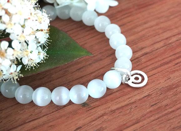 Bracelet BeYou XS Argent & Perles