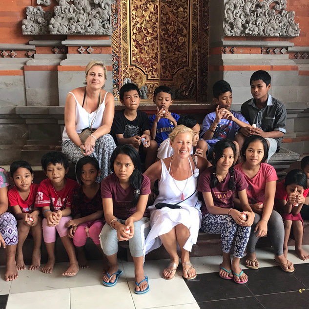 #beyoubeunited in a Balinese orphanage