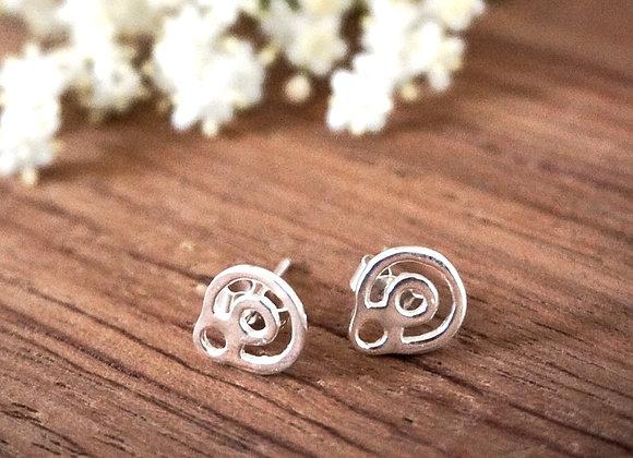 BeYou Energetic Earrings Silver