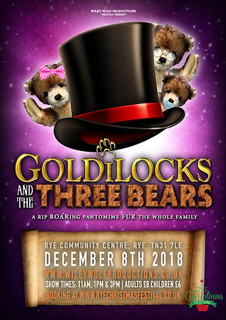 Goldilocks and The Three Bears Pantomime