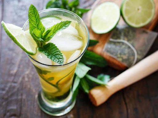 Iced Green Tea & Green Tea for Adults