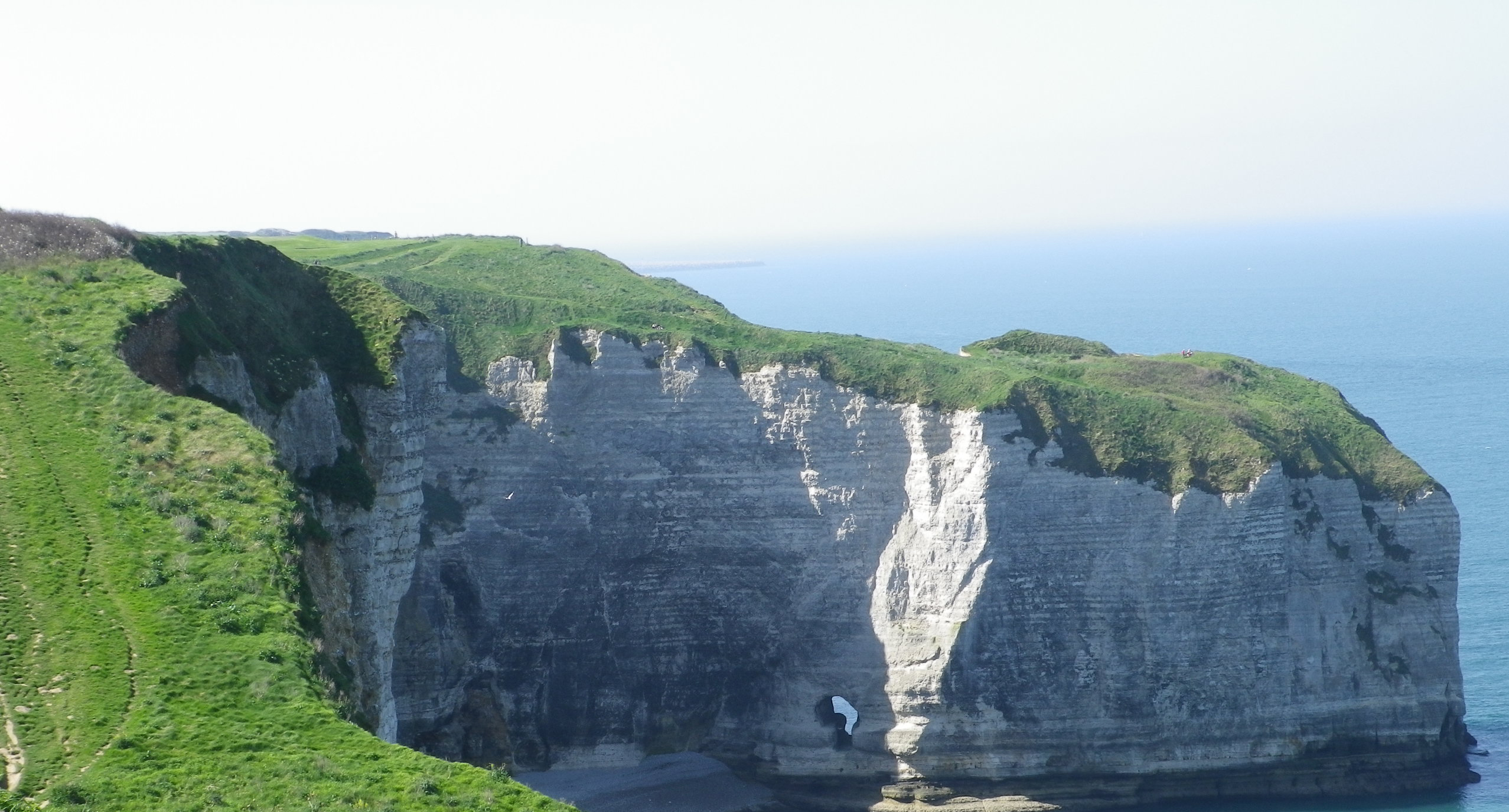 Etretat Coast walk view