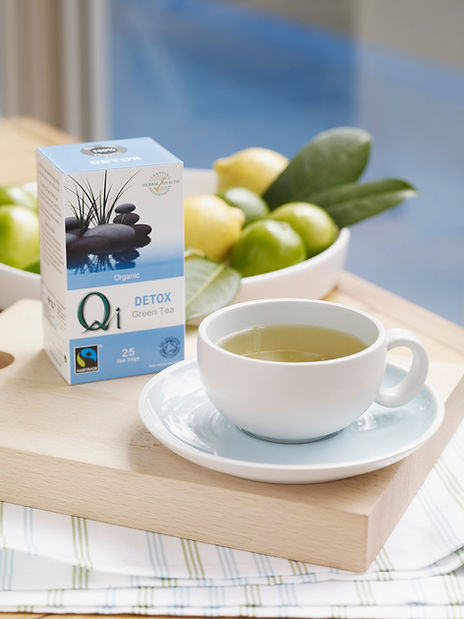 A lovely cup of Qi Tea