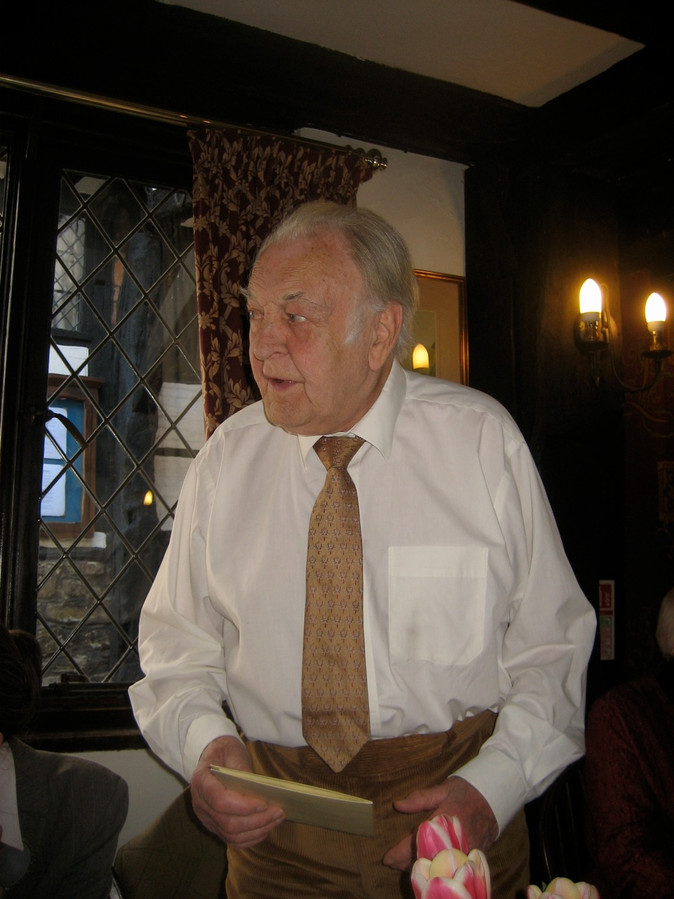 Sir Donald Sinden CBE