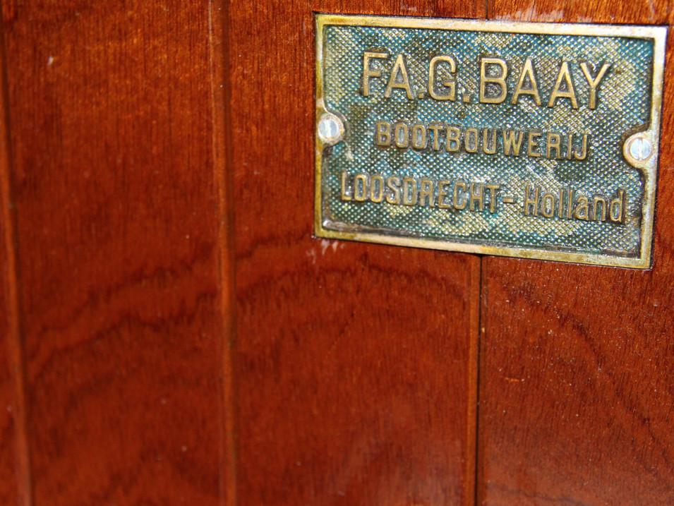 Klassieke Baay tender sloep te Koop