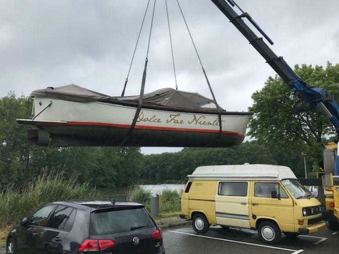 Luxe Harding sloep, lengte 10.20m voorzien van boegschroef