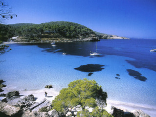Ibiza trendy spot and beautiful landscapes