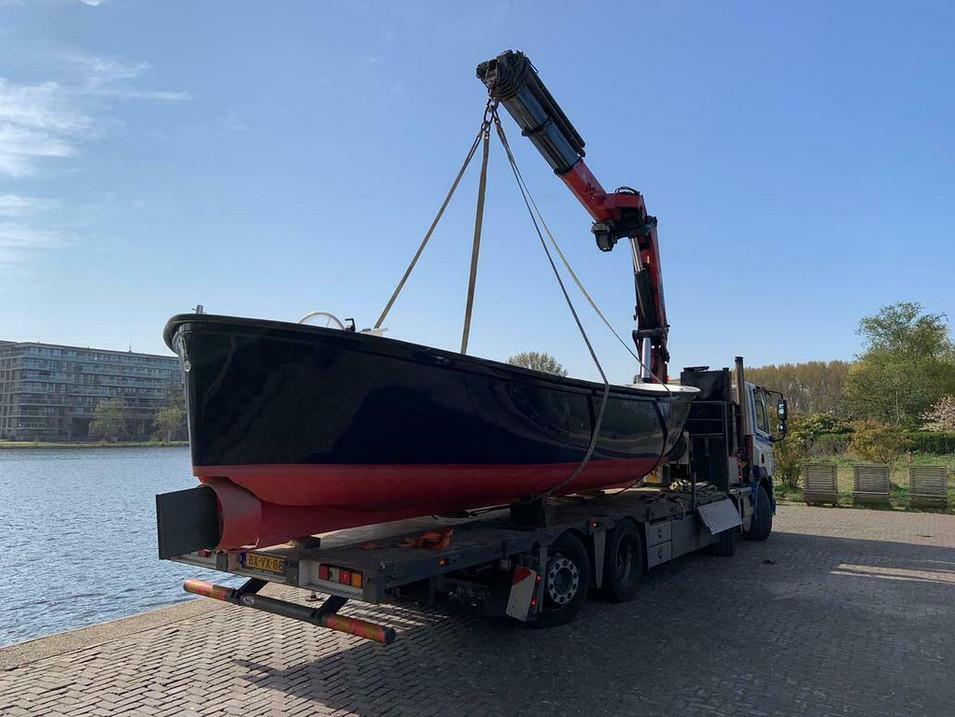 Nieuwe Elektrische Harding Sloep 8.5 m I Te Koop I Sloepen Discounter I Verkoop