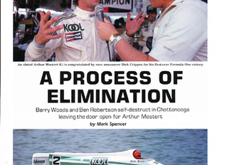 A PROCESS OF ELIMINATION