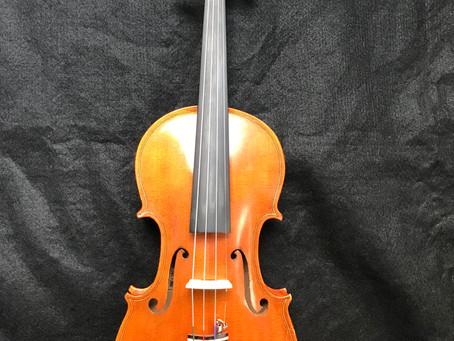 Handmade American Violin by Edmund Rochelle - 1981  $1250