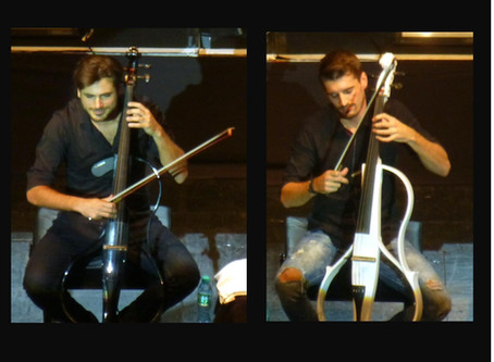 Concert Review: 2Cellos at the Moda Center 2/7/2019