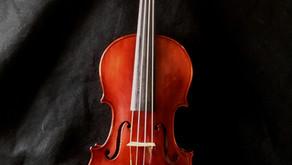 1925 Gustav Fedor Heberlein Jr. German Violin - Stunningly Beautiful!