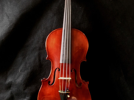 1925 Gustav Fedor Heberlein Jr. German Violin - Stunningly Beautiful!