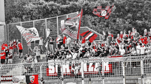 Ingolstadt-Fans im Gästeblock