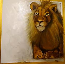 cass-løve-guld-80x80cm5500kr-næsten-færd