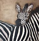 Fine Artist Wildlife Paintings Zebra