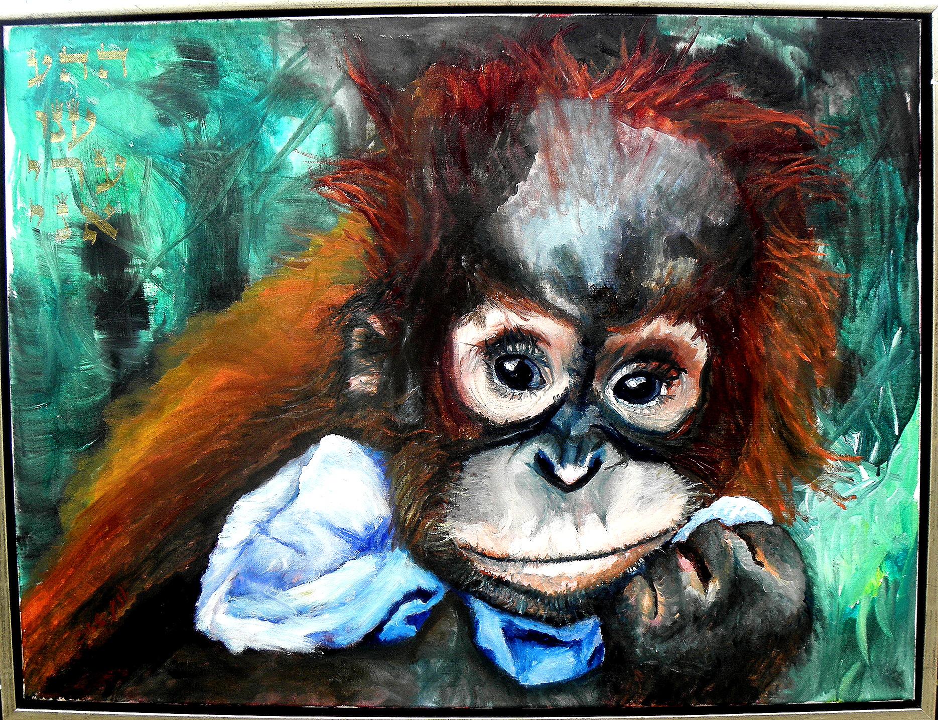Cassandra Øst - Orangutang Unge