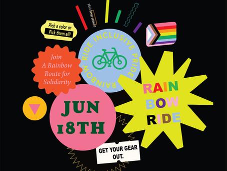 Pride Ride | Rainbow Ride |  June 18th, 2020