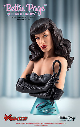 Bettie Page V2 Queen of Pinups 3/4  Bust (Naughty Bettie)