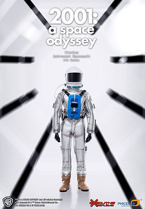 2001: A SPACE ODYSSEY: 1/6TH SCALE CLAVIUS ASTRONAUT SUIT (FIGURE NOT INCLUDED)