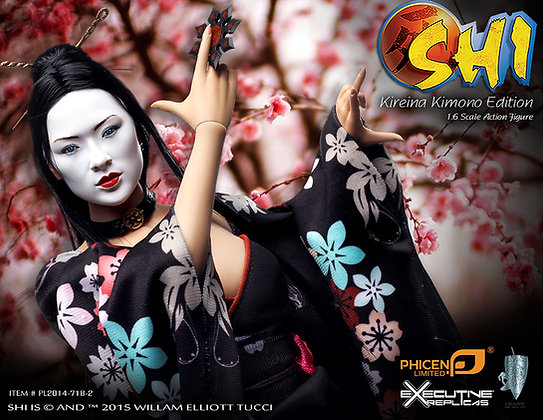Shi in Kimono 1:6 Scale Collector Figure US