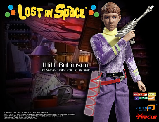 Will Robinson Lost in Space 3rd Season
