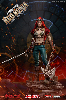 Steam Punk Red Sonja 1/6th Scale Action Figure with Base Pre-Order