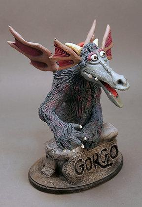 Gorgo from Monster TV Network Statue