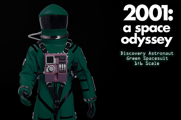 2001: A SPACE ODYSSEY GREEN DISCOVERY