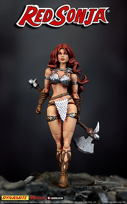 RED SONJA ACTION FIGURE 6in Pre Order