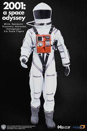 2001 A SPACE ODYSSEY WHITE DISCOVERY ASTRONAUT