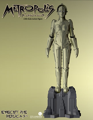 Metropolis – Maschinenmensch Metal 1/6 Scale Action Figure