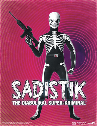 Sadistik 12in Action Figure