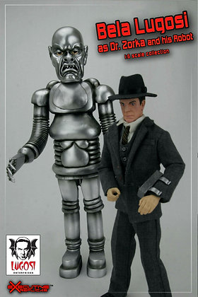 Bela Lugosi as Dr. Zorka and his Robot 1/6th Scale