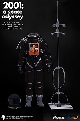 2001 A SPACE ODYSSEY BLACK DISCOVERY ASTRONAUT