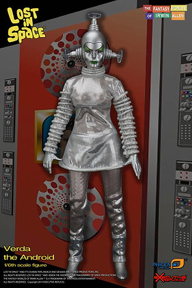 Lost in Space Verda the Android 12in Action Figure