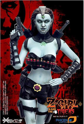 Z-Girl Zombie 12in Action Figure