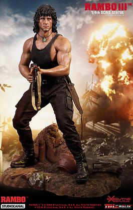 Rambo Ⅲ 1/4 Scale Premium Statue