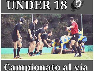 Under 18 - Campionato al via