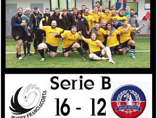 Serie B: Franciacorta battagliero ferma la capolista