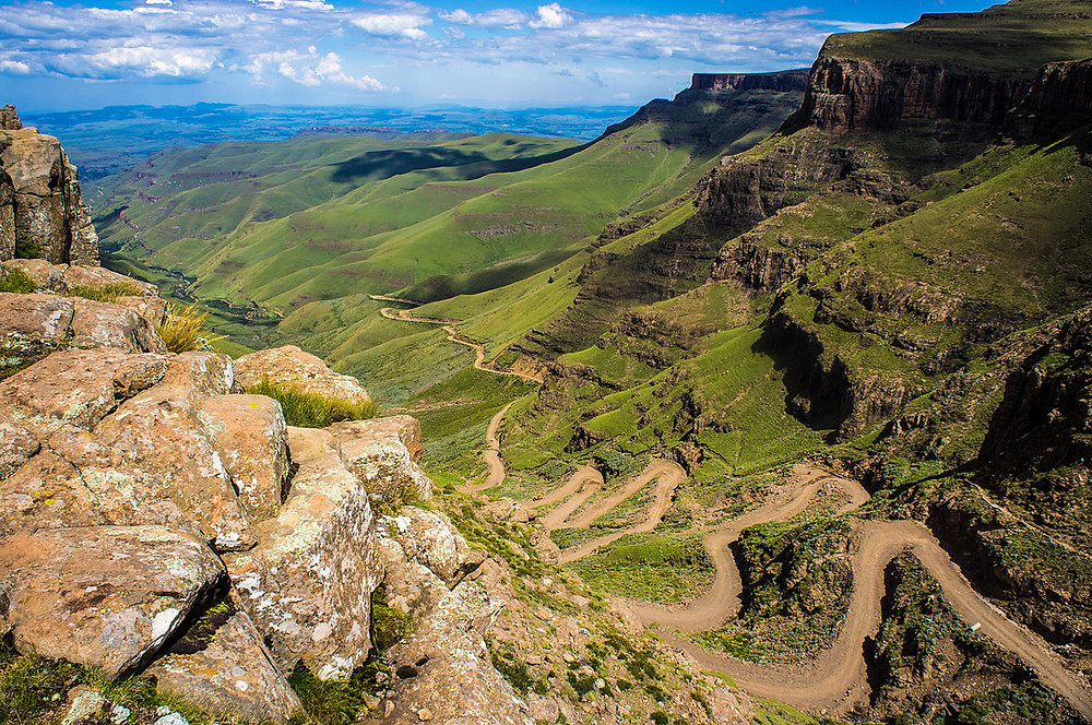 Sani Pass road South Africa