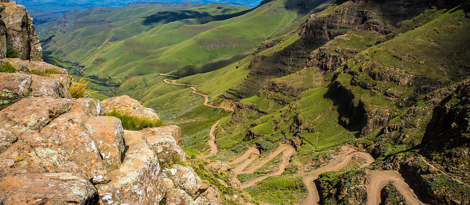 March 2019: Sani Pass South Africa Into The Mountain Kingdom Of Lesotho.