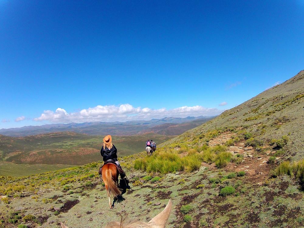 Lesotho Mountain ride