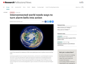 Interconnected world needs ways to turn alarm bells into action
