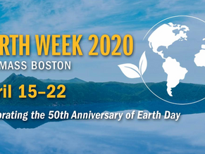 Earth Week 2020 at UMass Boston