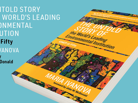 UNEP at 50. Book Review by Michael W. Manulak