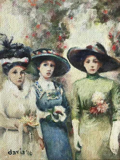 Three Ladies in 1910, 2016