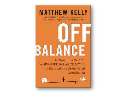 Off Balance - Getting beyond the work-life balance myth to personal and professional satisfaction